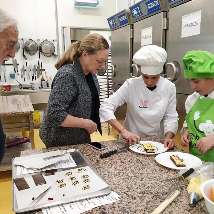 Pastelería Ascaso, presente en Madrid Fusión de la mano de ATADES