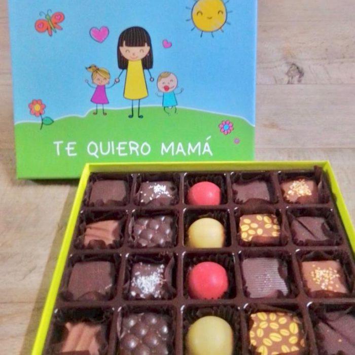 Besos y abrazos en forma de chocolate para el Día de la Madre